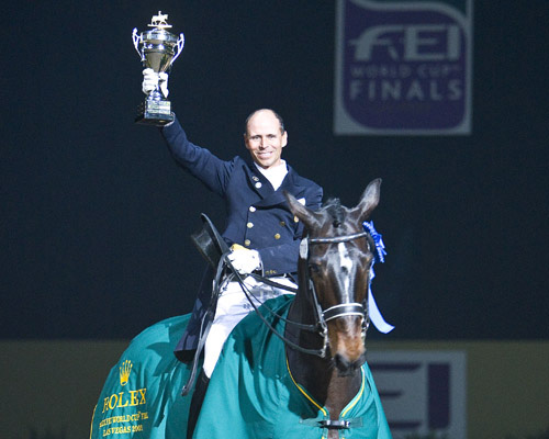 FEI World Cup Champions Steffen Peters and Ravel. © 2009 Ken Braddick/dressage-news.com