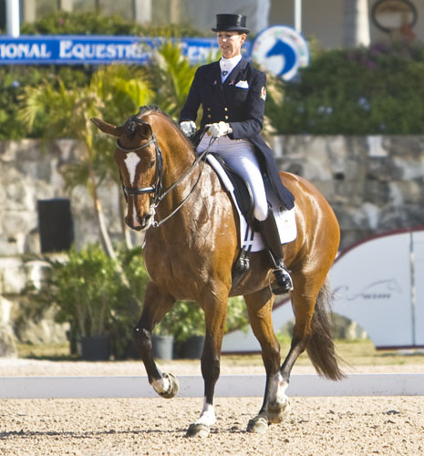 Shannon Dueck and Ayscha. © 2010 Ken Braddick/dressage-news.com