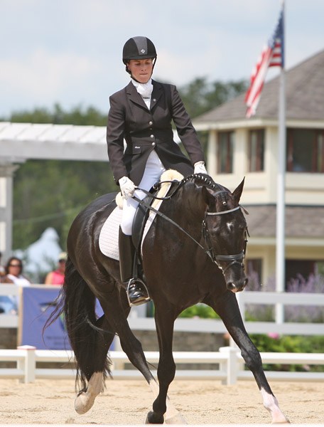 Somer Hit and Lauren Chumley. © 2011 Ken Braddick/dressage-news.com