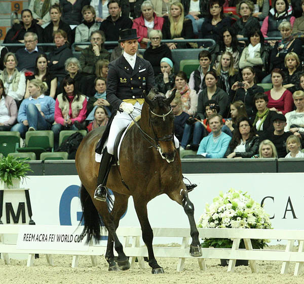 Patri Kittel and the Australian-owned Toy Story. © Pelle Wedenmark/dressage-news.com