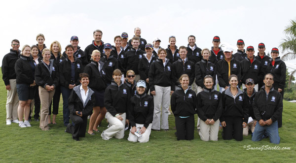 Riders in the CDIO3* Nations Cup in Florida in 2012. ©2012 SusanJStickle.com