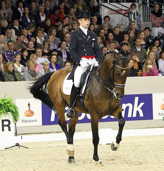 Michal Rapcewicz and Randon. ©2012 Ken Braddick/dressage-news.com