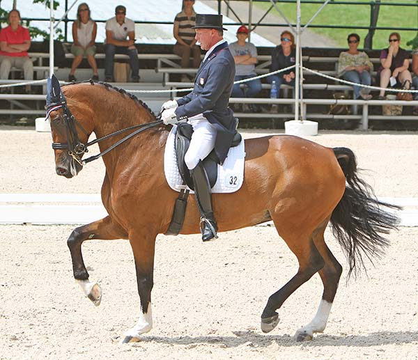 Jan Ebeling and Raflca. © Ken Braddick/dressage-news.com
