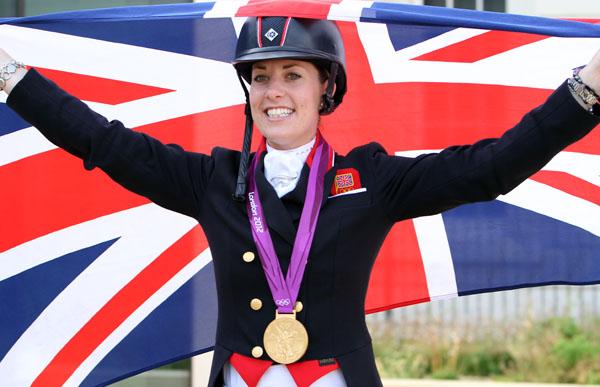 Charlotte Dujardin of Great Britain.©2012 Ken Braddick/dressage-news.com