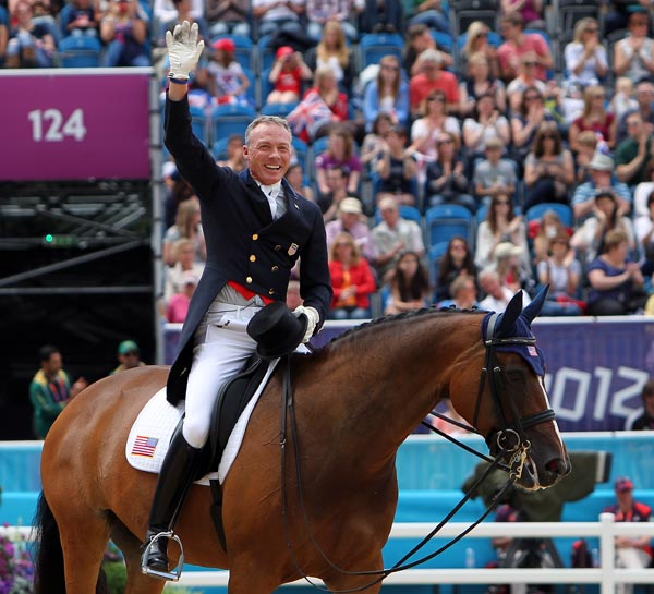 Twp years after the Olympics in London, Jan Ebeing and Rafalca are seeking to be on another United States team, this tie for the World Equetrian Games. © Ken Braddick/dressage-news.com