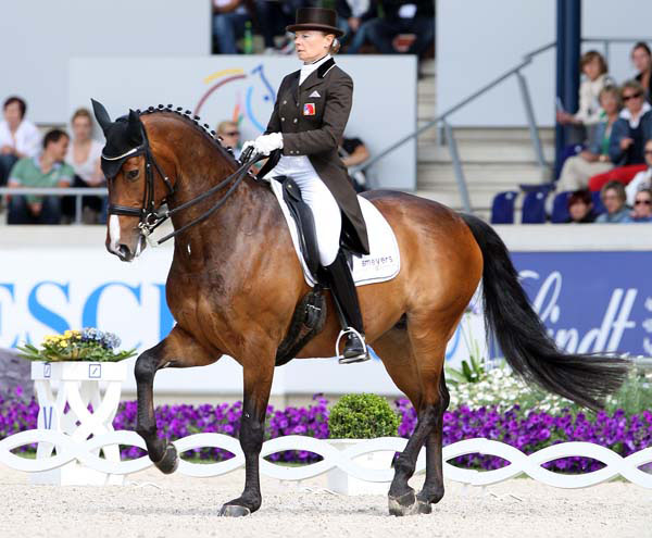 Marcela  Krinke Susmelj and Smeyers Molberg. © Ken Braddick/dressage-news.com