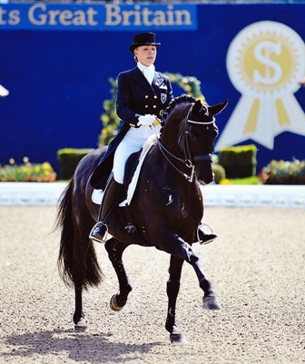 Terhi Stegars & Axis With Personal Best Score Win Paris CDI3*...