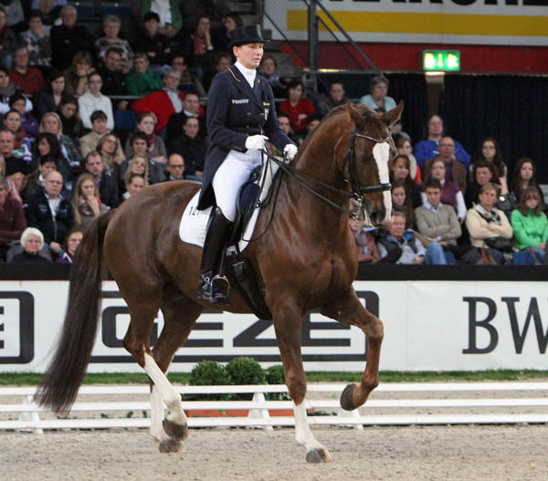 Anabel Balkenhol and Dablino, © Ken Braddick/dressage-news.com