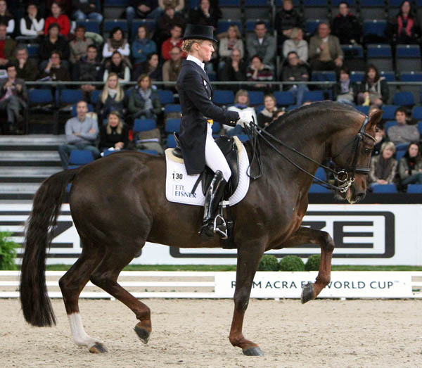 Helen Langehanenberg and Damon Hill NRW. © Ken Braddick/dressage-news.com