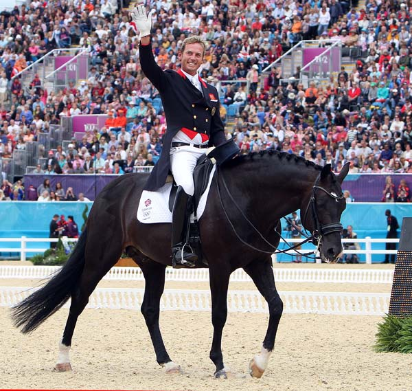 Carl Hester and Uthopia at the Olympic Games in London. © 2012 Ken Braddick/dressage-news.com