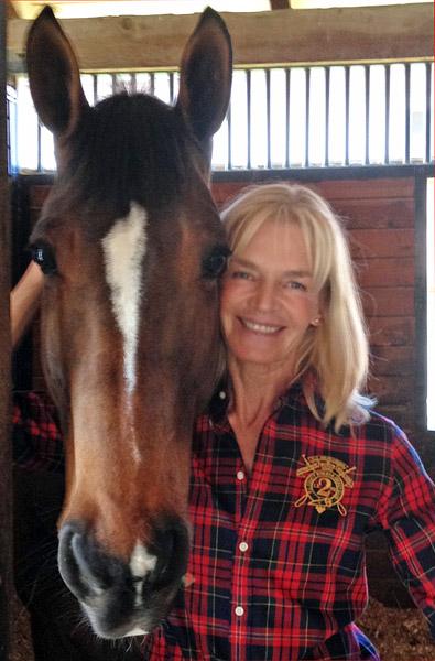 Christine Traurig with Louisdor.
