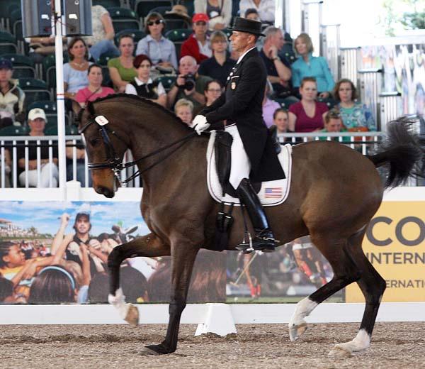 Steffen Peters and Legolas. ©2013 Ken Braddick/dressage-news.com