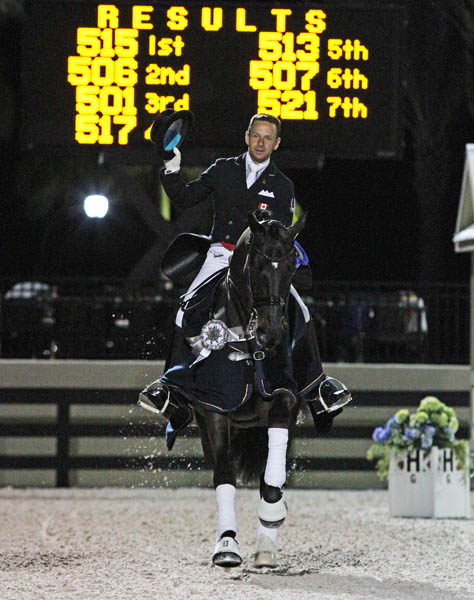 David Marcus and Chrevi's Capital. © Ken Braddick/dressage-news.com