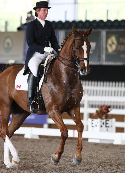 Diane Creech and Devon L. © Ken Braddick/dressage-news.com