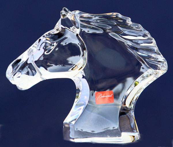 Baccarat Crystal Cheval to be awarded by the  International Equestrian Federation (FEI) at the Global Dressage Festival Nations Cup. © 2013 Ken Braddick/dressage-news.com