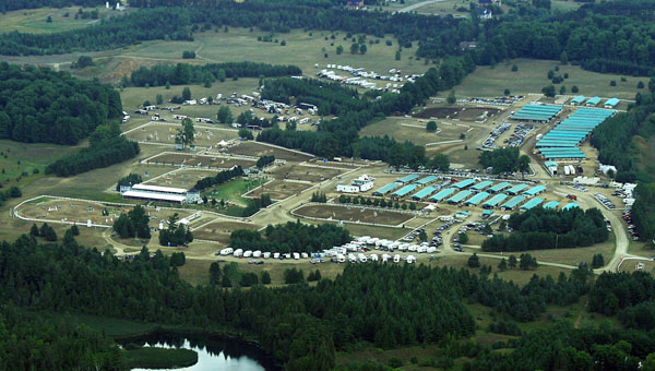 Caledon Equestrian Park that will host the 2015 Pan American Games and where the International Equestrian Federation has proposed only one nation can win a berth in the 2016 Olympics in Rio de Janiero, the first Games ever to be held in South America.
