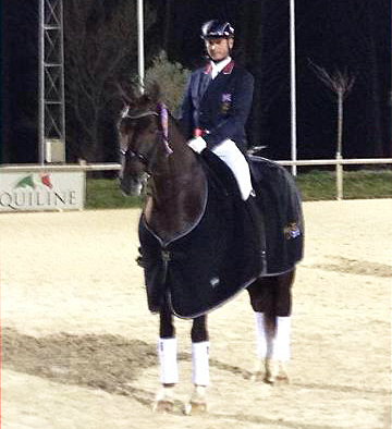 Carl Hester and Fine Time.