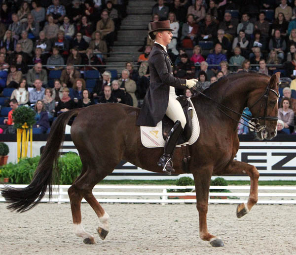 Victroia Max-Theurer and Blind Date. © Ken Braddick/dressage-news.com