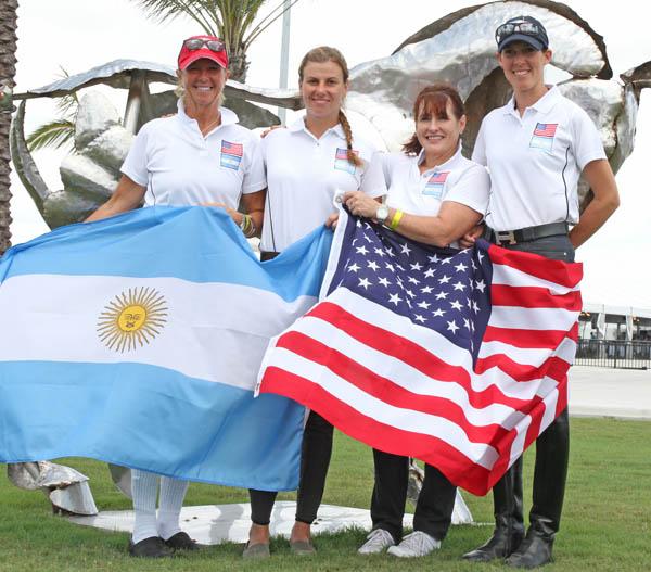 Argentine team. ©2013 Ken Braddick/dressage-news.com