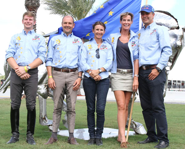 European team. © 2013 Ken Braddick/dressage-news.com