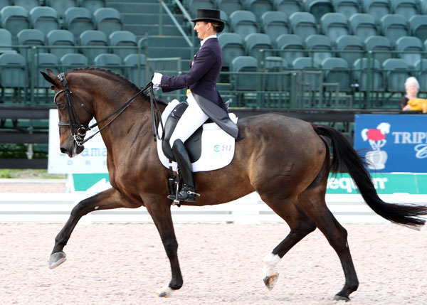 Makala Gundersen and My Lady. © 2013 Ken Braddick/dressage-news.com