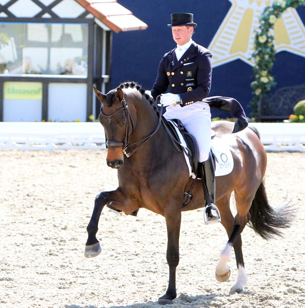 Patrik Kittel and Deja. © Ken Braddick/dressage-news.com