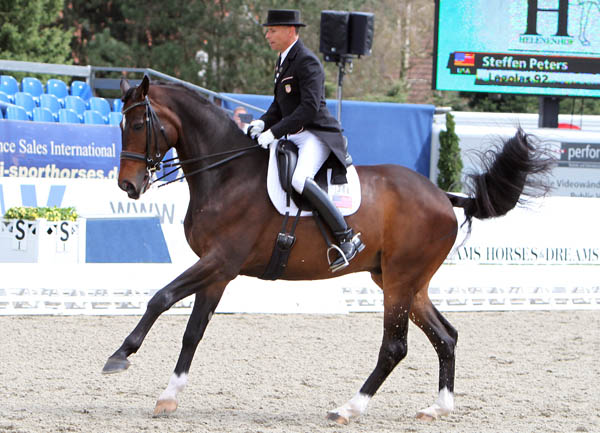Steffen Peters and Legolas at Hagen. © 2013 Ken Braddick/dressage-news.com