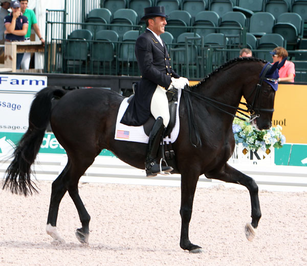 Cesar Parra and Van the Man. © 2013 Ken Braddick/dressage-news.com