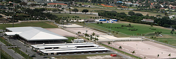 Global Dressage Festival grounds in Wellington, Florida. © Ken Braddick/dressage-news.com