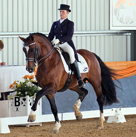 Sheridyn Ashwood and Prestige VDL.