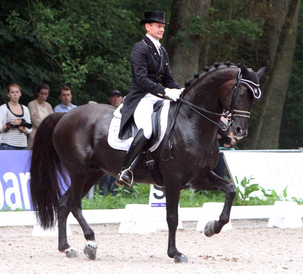 Edward Gal and Voice . © Ken Braddick/dressage-news.com