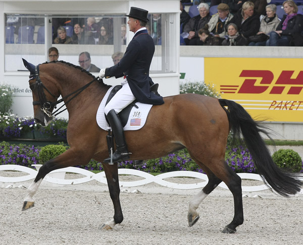 Jan Ebeling and Raflca. © 2013 Ken Braddick/dressage-news.com