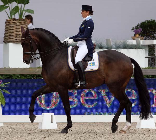 Tinne Vilhelmsson-Silfvén and Don Auriello. ©2013 Ken Braddick/dressage-news.com