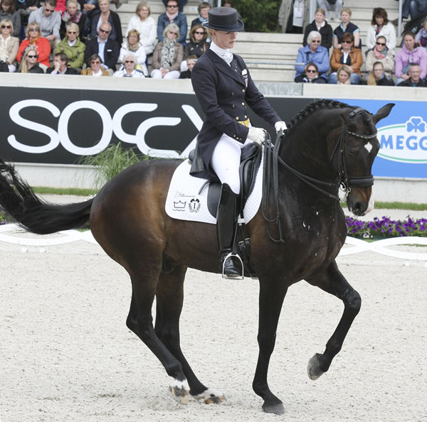 Nathalie zu Sayn-Wittgenstein and Digby in the Aachen Grand Prix Freestyle. © 2013 Ken Braddick/dressage-news.com