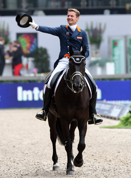 Edward Gal & Undercover Netherlands Champion, Danielle Heijkoop & Kingsley Siro Reserve |