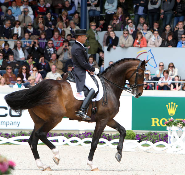 Steffen Peters and Legolas. © Ken Braddick/dressage-news.com