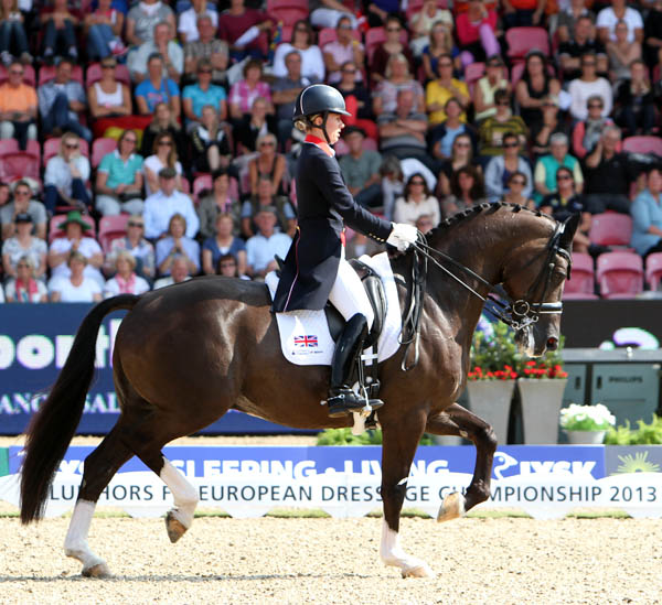 Charlotte Dujardin and Valegro. © 2013 Ken Braddick/dressage-news.com