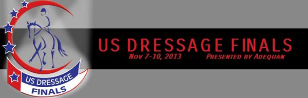 US Dressage Finals logo