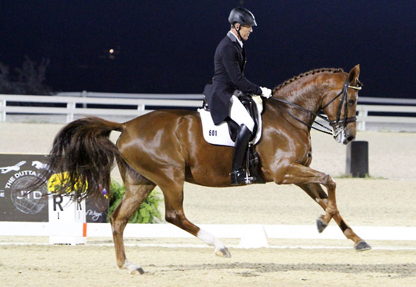 Steffen Peters & Legolas Overcome Error to Take USA National Championships Grand Prix Special