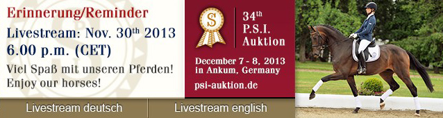 Reminder PSI-Livestream