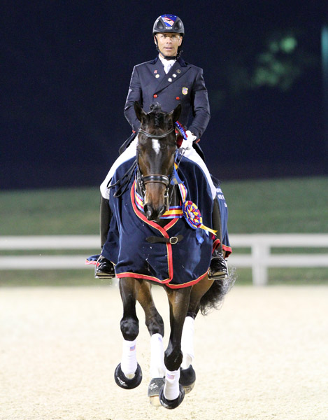 Legolas is 2013 US Dressage Federation Horse of Year