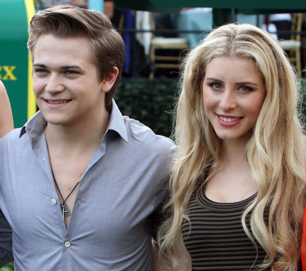 Hunter Hayes and Paige Bellissimo. © 2014 Ken Braddick/dressage-news.com