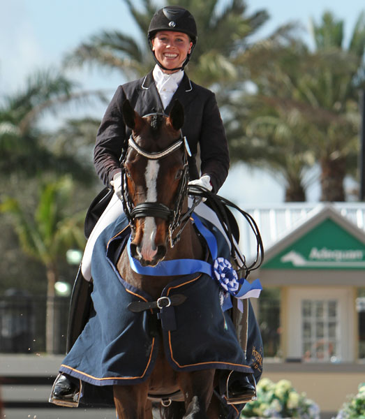 Megan Lane and Caravella  Win Ontario CDI3* Special