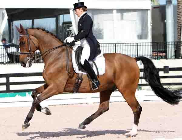 Tinne Vilhelmsson-Silfvén Rides Divertimento to Personal Best...