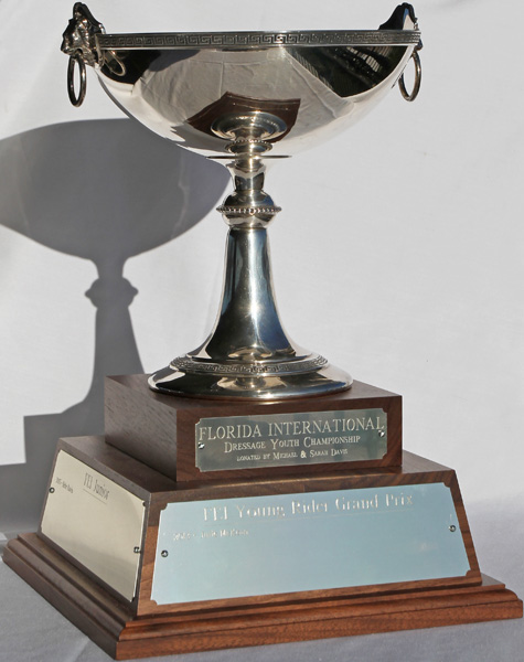 The Florida International Youth Championship Cup donated by Michael and Sarah Davis.