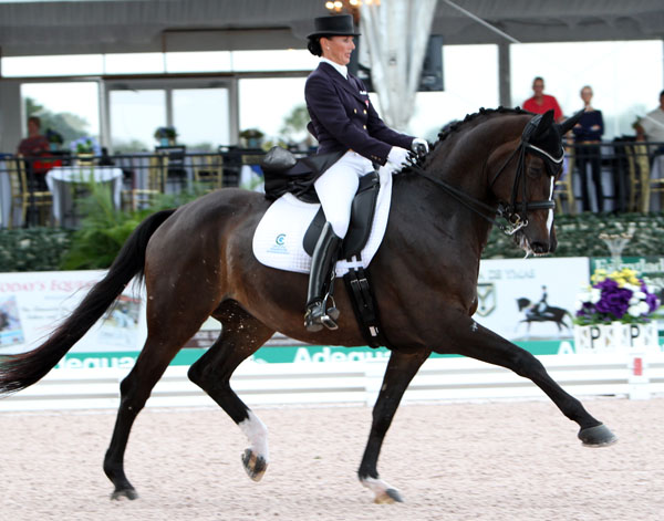 Mikala Münter Gundersen and My Lady. © 2014 Ken Braddick/dressage-news.com