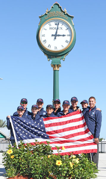 USA teams 1 and 2. © 2014 Ken Braddick/dressage-news.com