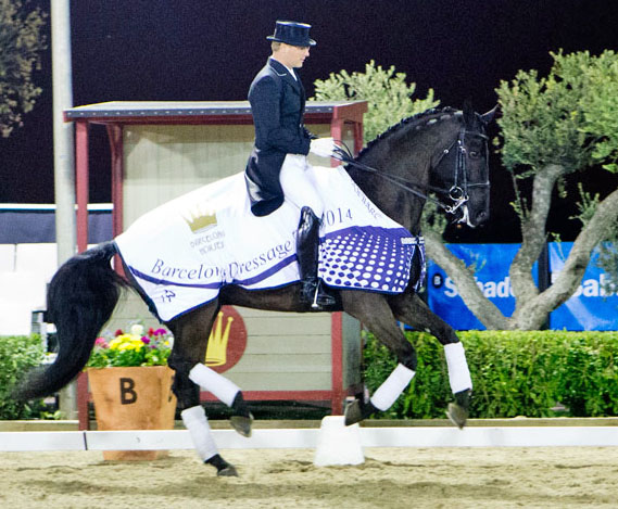 Anders Dahl on Selten HW at Barcelona Spring Tour CDI3*.
