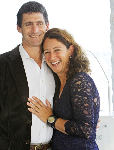 Catherine Haddad-Staller and her husband. Gregory Staller. © 2014 Ken Braddick/dressage-news.com