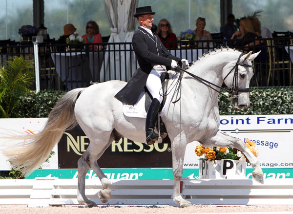 Lars Petersen and Willano. © 2014 Ken Braddick/dressage-news.com